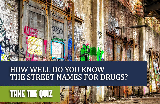 How Well Do You Know The Street Names For Drugs